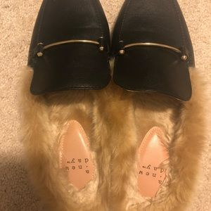 A New Day (Target brand) Furry Mules